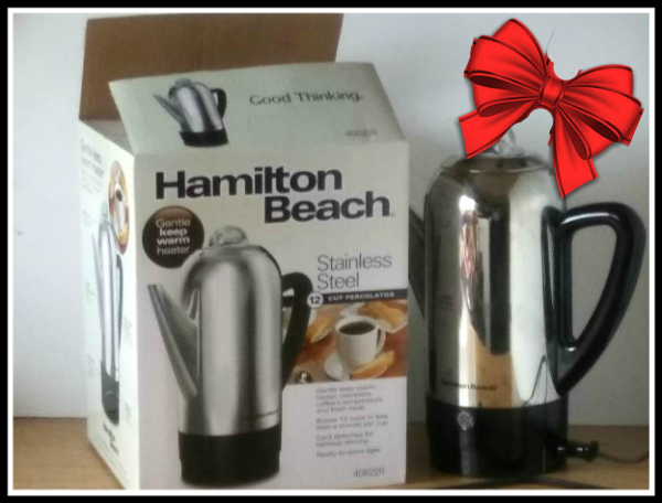 Hamilton Beach Coffee Percolator - haphazardhomemaker.com