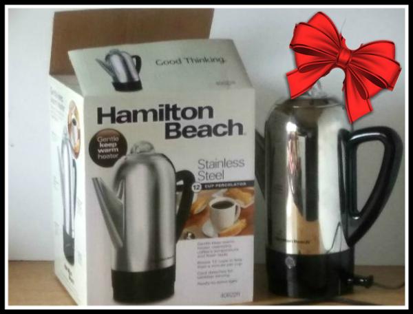 Hamilton Beach Coffee Percolator - haphazardhomemaker.com
