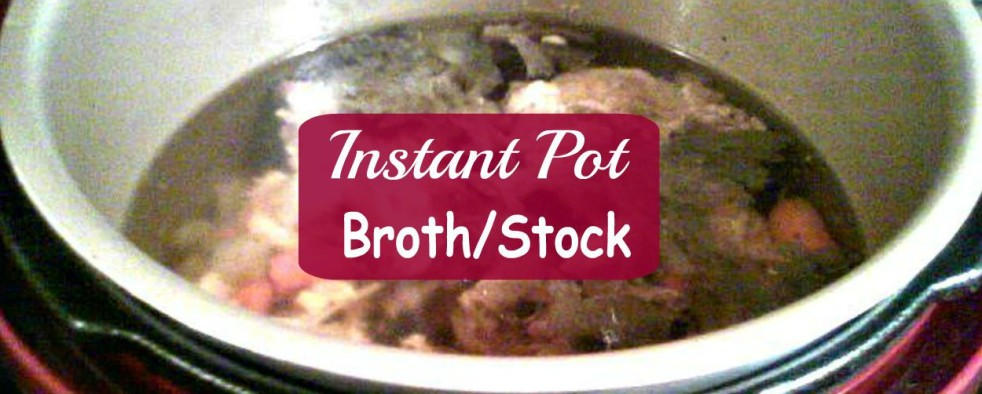 Easy Instant Pot Broth/Stock - haphazardhomemaker.com