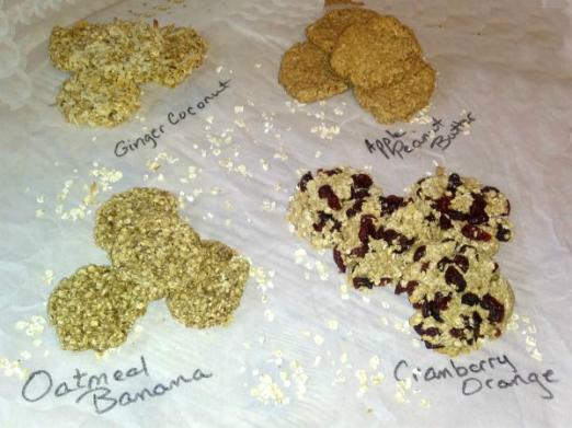Healthy 2 Ingredient Cookies - haphazardhomemaker.com