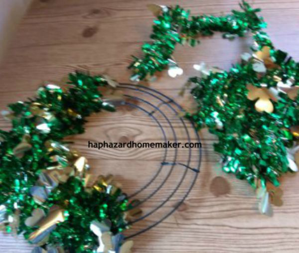 St Patricks Wreath -haphazardhomemaker.com