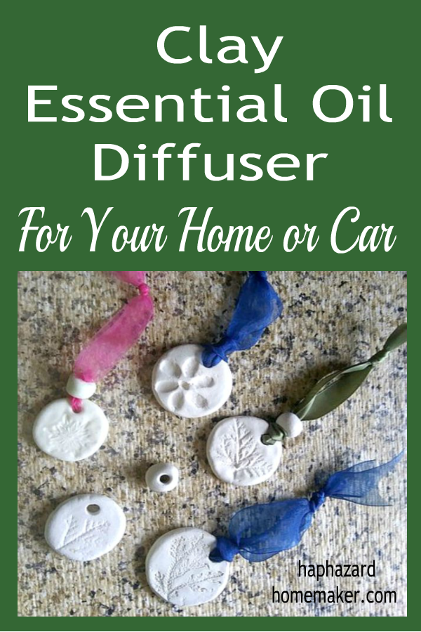 Clay Essential Oil Diffuser - haphazardhomemaker.com