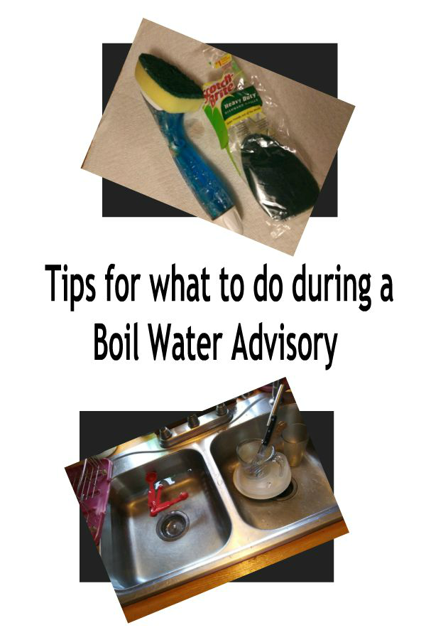 Tips for what to do during a Boil Water Advisory - haphazardhomemaker.com