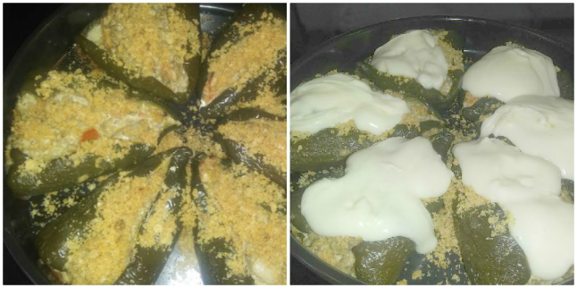 Chile Rellenos with Beef - Stuffed Poblano Peppers -   haphazardhomemaker.com