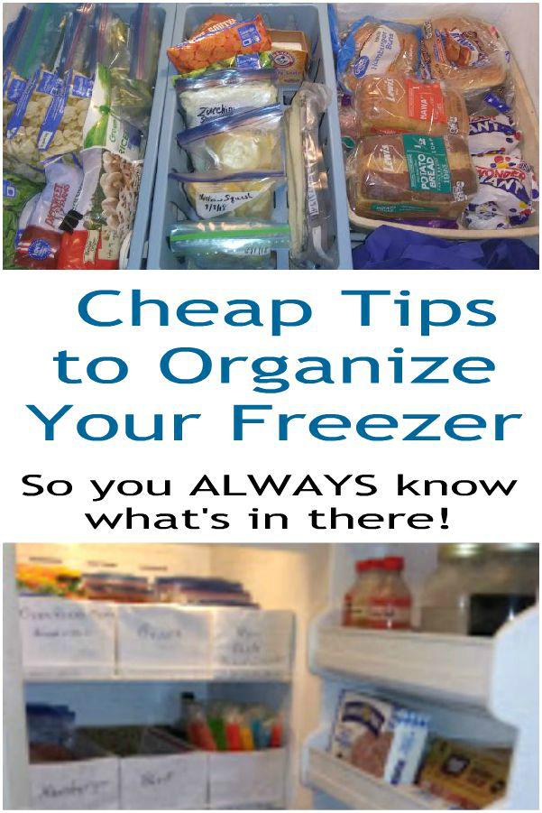 Cheap & Easy Tips to Organize Your Freezer So You Always Know What's In There