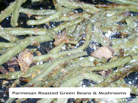 How to Make Sheet Pan Meals with Parmesan Roasted Green Beans & Mushrooms