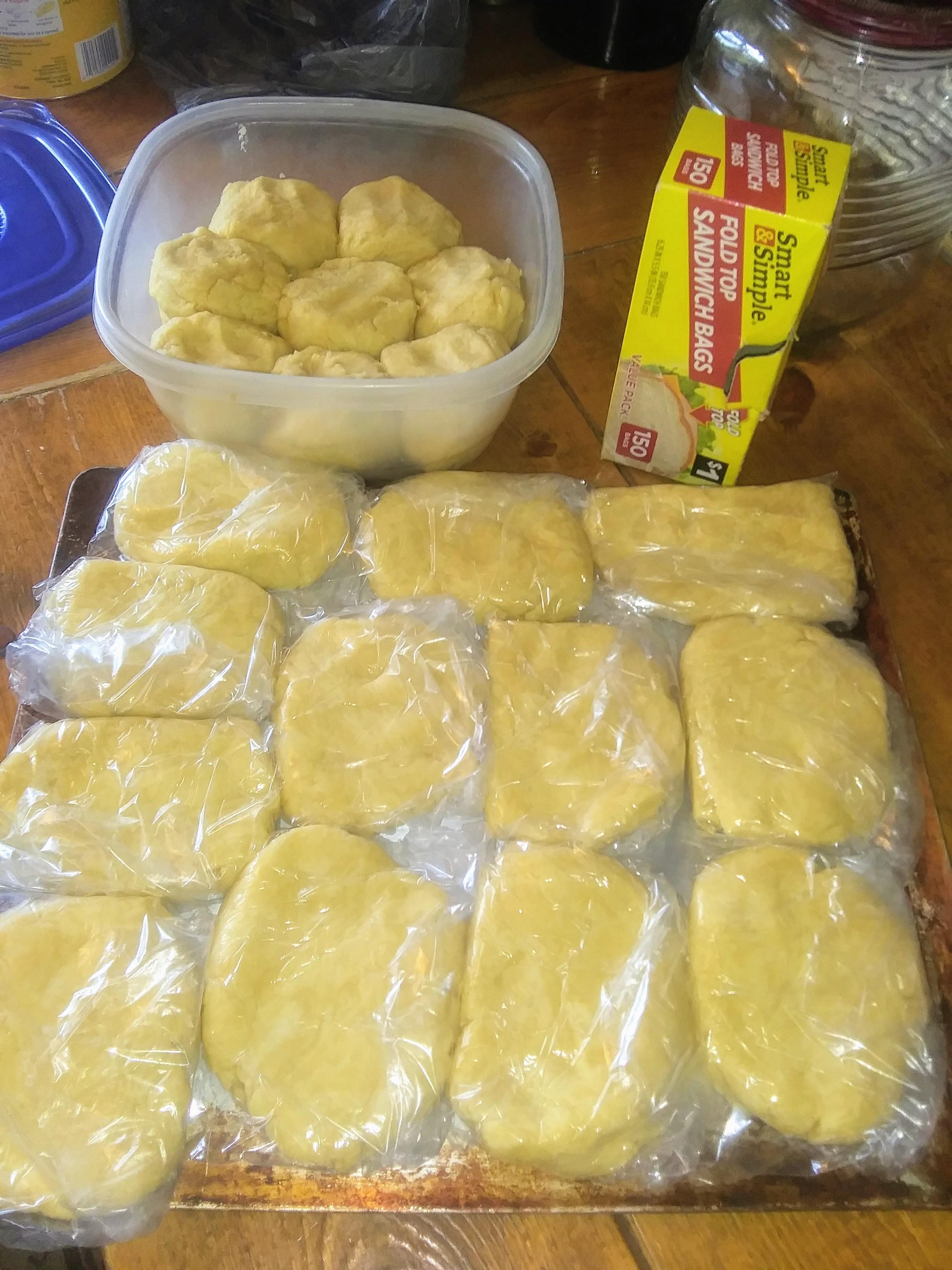 Freezer Pie Crust Dough - haphazardhomemaker.com