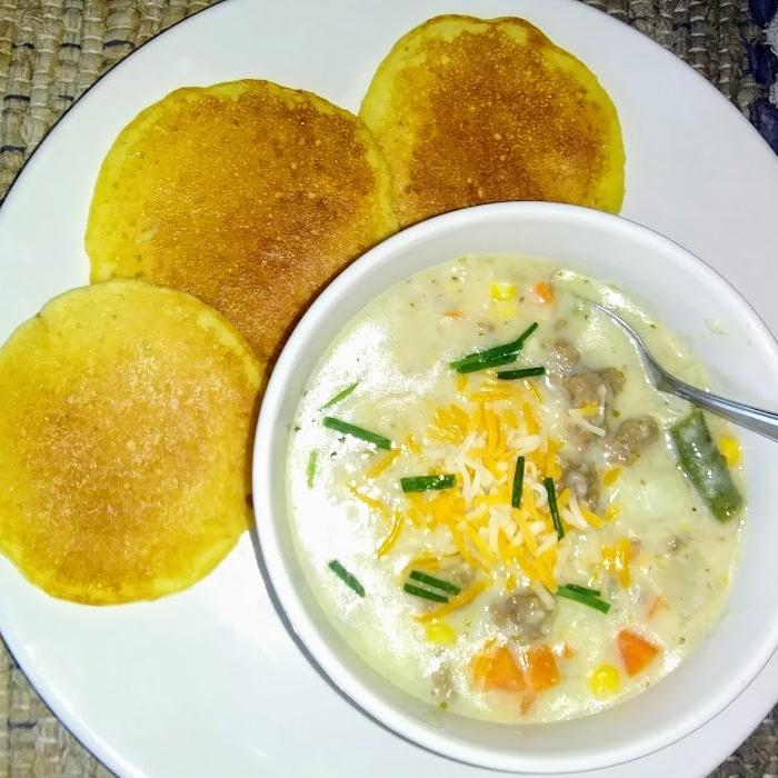 Hamburger Potato Soup - haphazardhomemaker.com