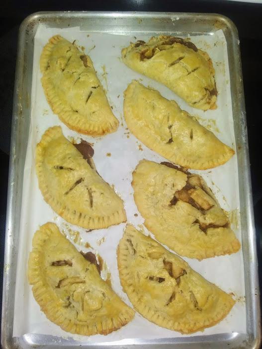 Oven Baked Pear Turnover - haphazardhomemaker.com
