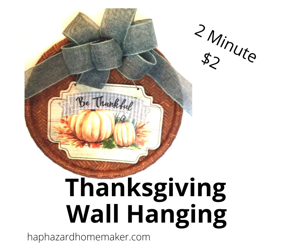 Thanksgiving Wall Hanging - haphazardhomemaker.com