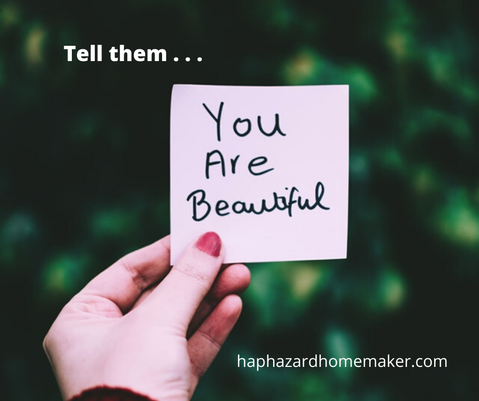 Sunday Reflections: Tell them . . . - haphazardhomemaker.com