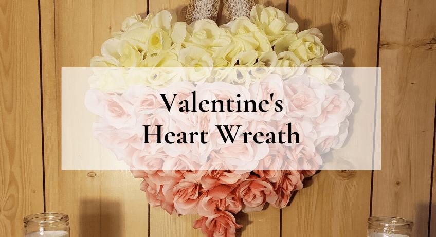Farmhouse Valentines Day Yarn Hearts